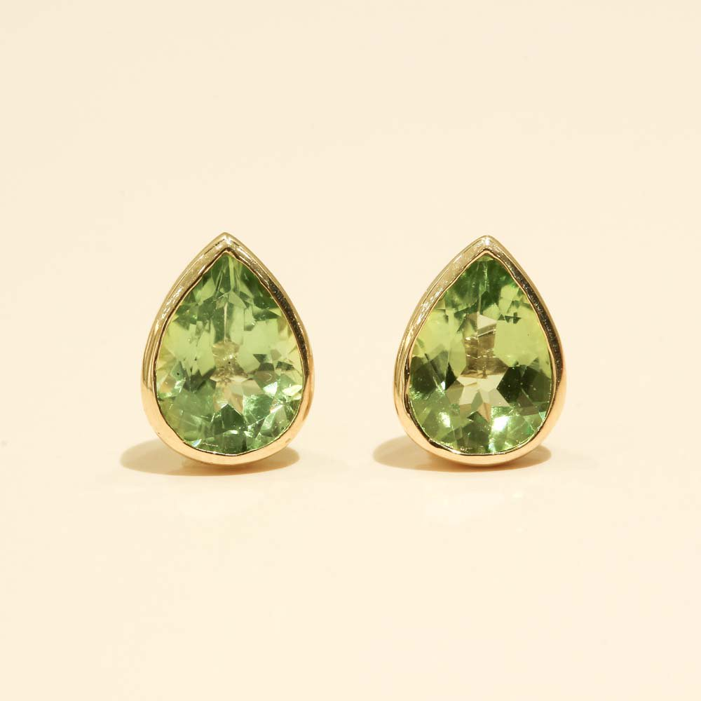 Jewelry marlon<br>K18YG ペリドット<br>