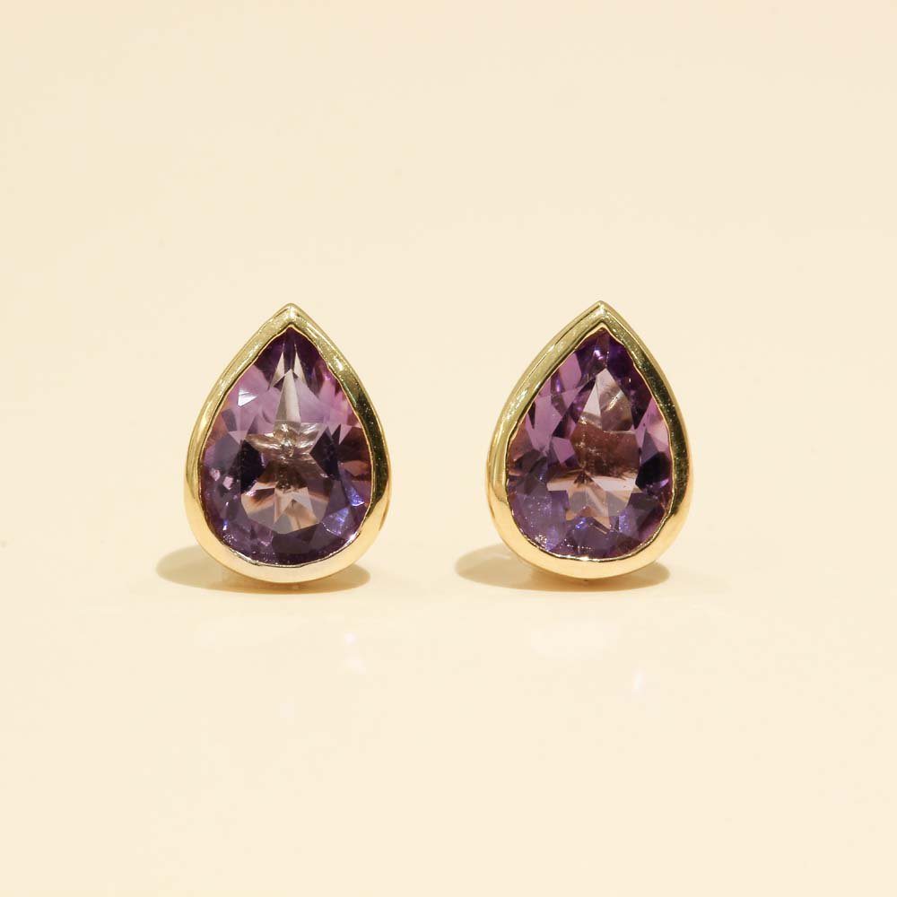 Jewelry marlon<br>K18YG アメシスト<br>