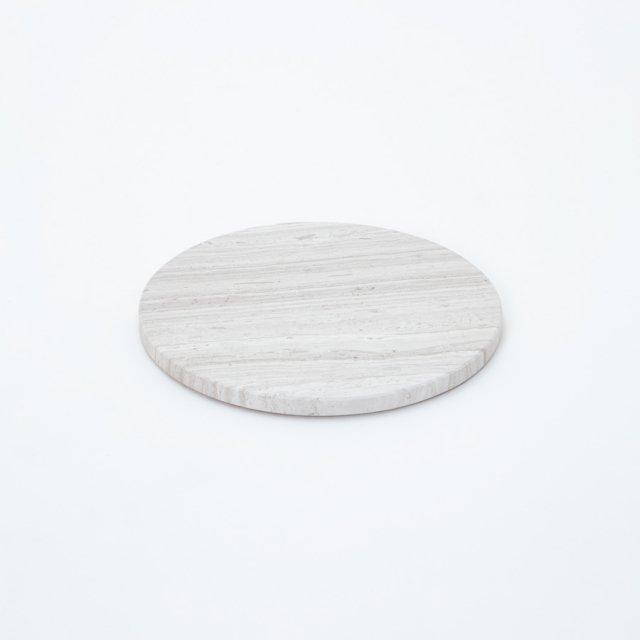 GF&CO. マーブルトレイ 円形 ダークセルベ