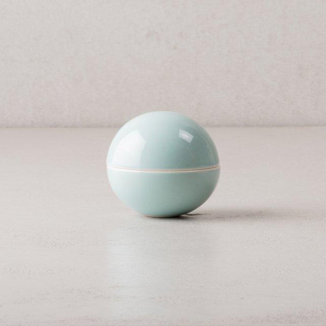 Uh la la Ceramics ボンボニエール LIGHT BLUE (艶あり)