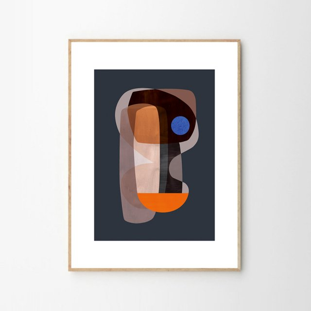 <img class='new_mark_img1' src='https://img.shop-pro.jp/img/new/icons43.gif' style='border:none;display:inline;margin:0px;padding:0px;width:auto;' />ABSTRACT CUBISM by Atelier Cph (30×40cm)