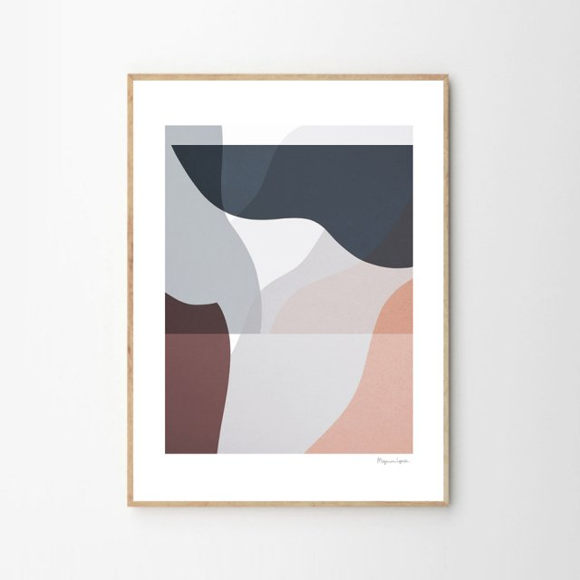 SOFT LINES 02 by Berit Mogensen Lopez (30×40cm)