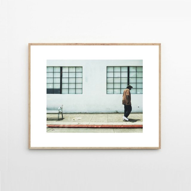 SANTA MONICA MAN by Christina Kayser O. (40×50cm)