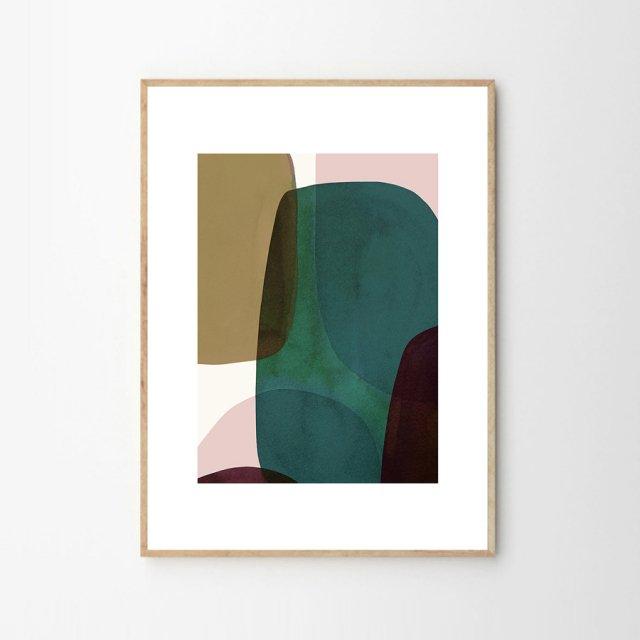 NO 10 by Berit Mogensen Lopez (50×70cm)