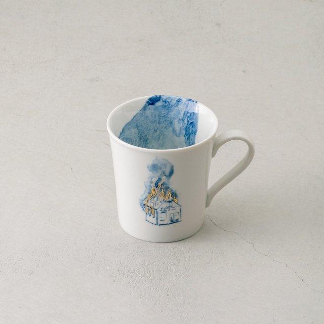 ARTISTKA マグカップ BURNING HOUSE #02