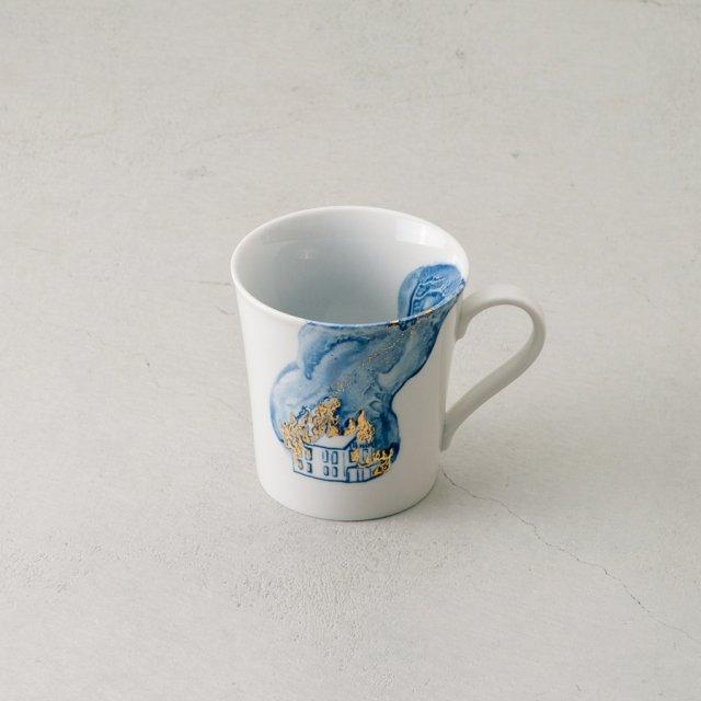 ARTISTKA マグカップ BURNING HOUSE #03