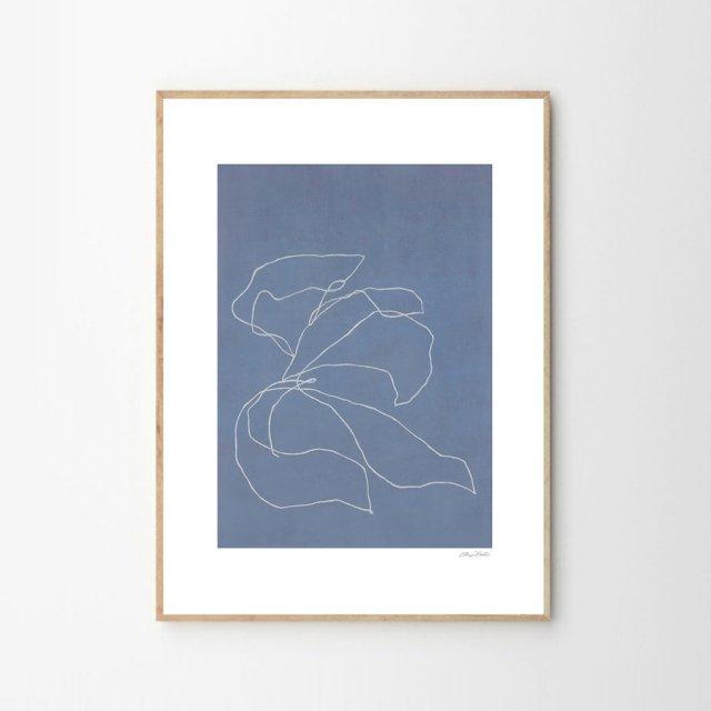 IRIS IN THE WIND by Sheryn Bullis (30×40cm)
