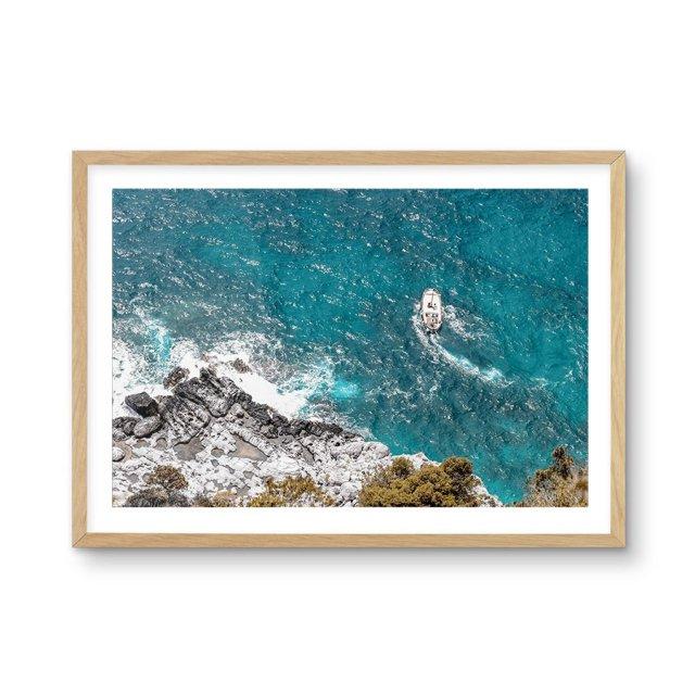 Sunday Sailing, Capri (50×70cm)