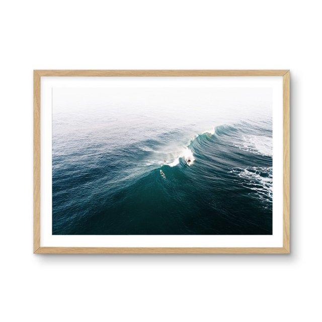 Mornington Surf   Victoria (50×70cm)