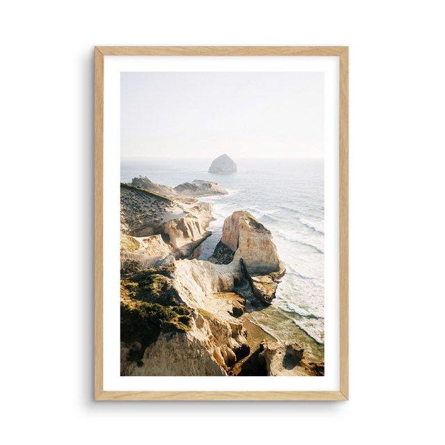 Cape Coast Vista (50×70cm)