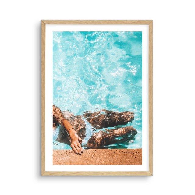Poolside Bliss II (50×70cm)