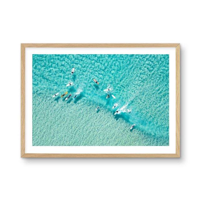 Surfers   Gold Coast (50×70cm)