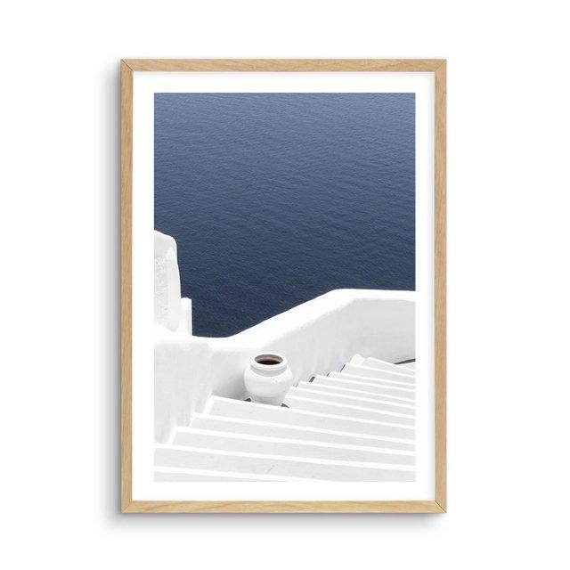 To The Sea | Santorini (40×50cm)