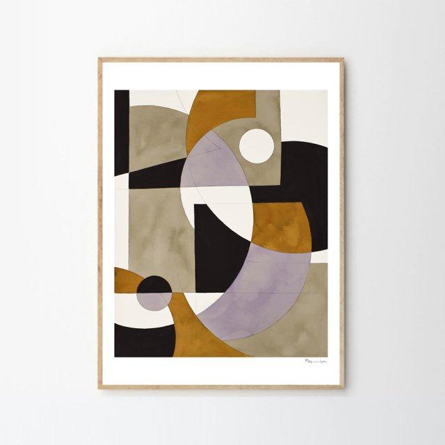 COMPOSITION 02 by Berit Mogensen Lopez (50×70cm)