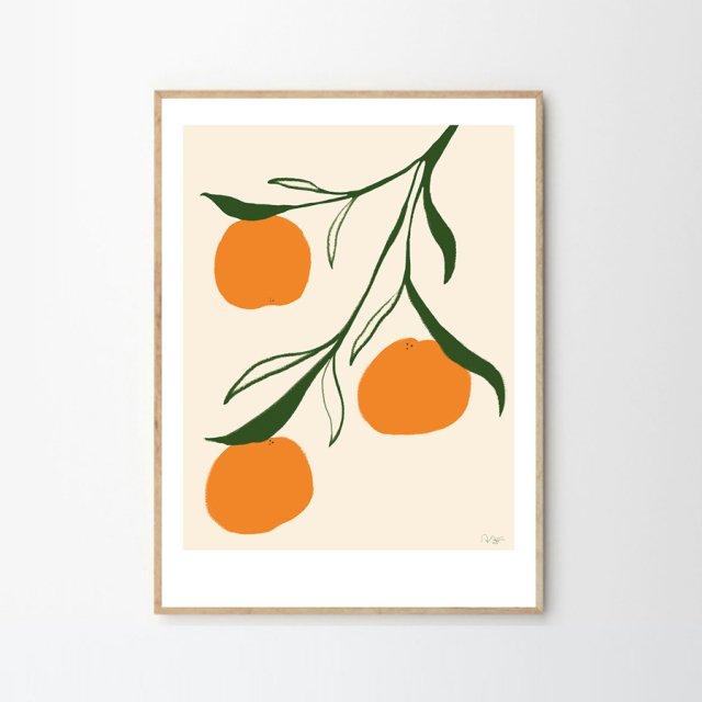 ORANGE by Anna Mörner (30×40cm)