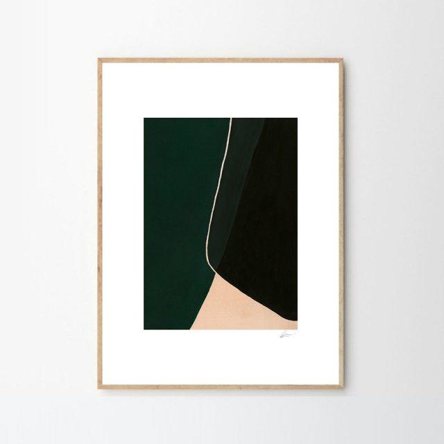 Algod/ón-Poli/éster 150x220x3 cm Play Basic Collection Funda N/órdica Gris y Verde Glacial