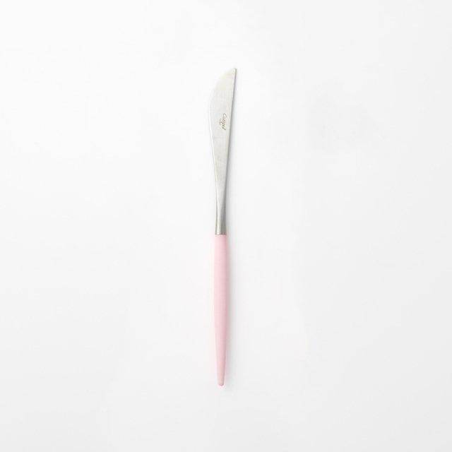 Cutipol GOA ピンク ディナーナイフ SILVER