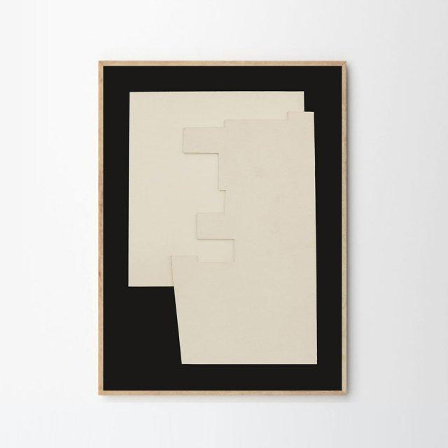 RELIEF by Berit Mogensen Lopez (50×70cm)