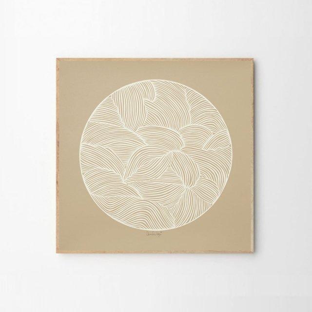 MOON NO.01 by Little Detroit (50×50cm)