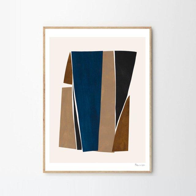 PIECES 01 by Berit Mogensen Lopez (50×70cm)