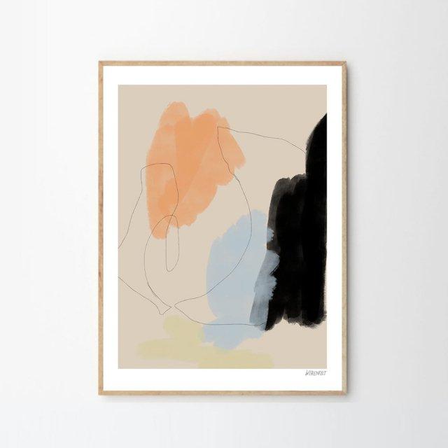 FRANCA by Lisa Wirenfelt (30×40cm)