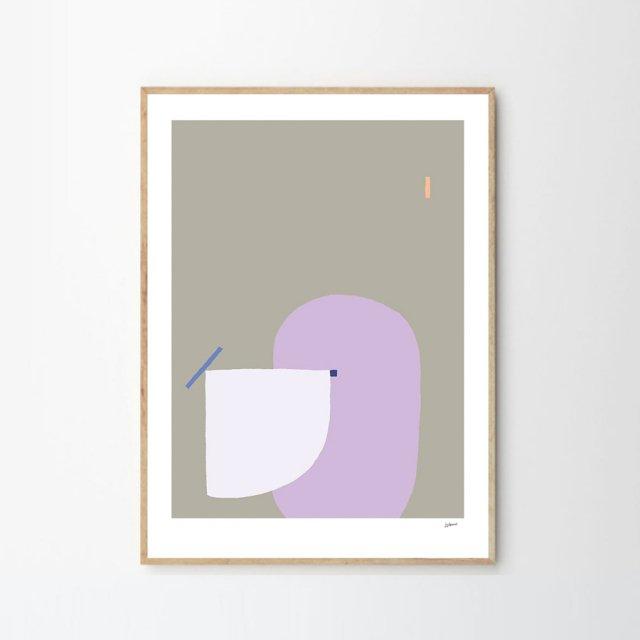 I LIKE SHAPES 08 by Wensi Zhai (50×70cm)