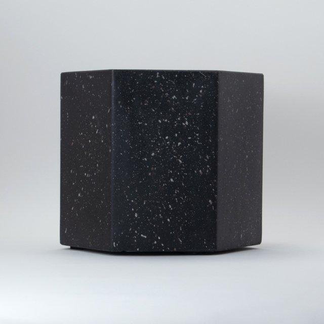 ゾアヘキサゴン 37×32cm BLACK