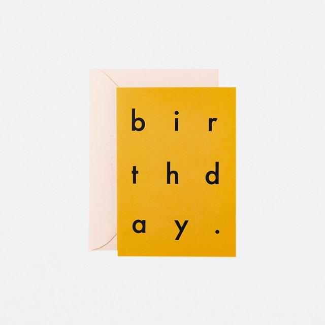 Katie Leamon メッセージカード EXTRACT BIRTHDAY