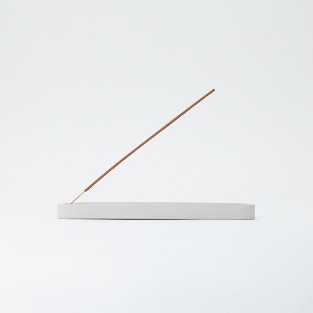 SURPOINT デュアルスティック コンクリートインセンスバーナー LIGHT GRAY
