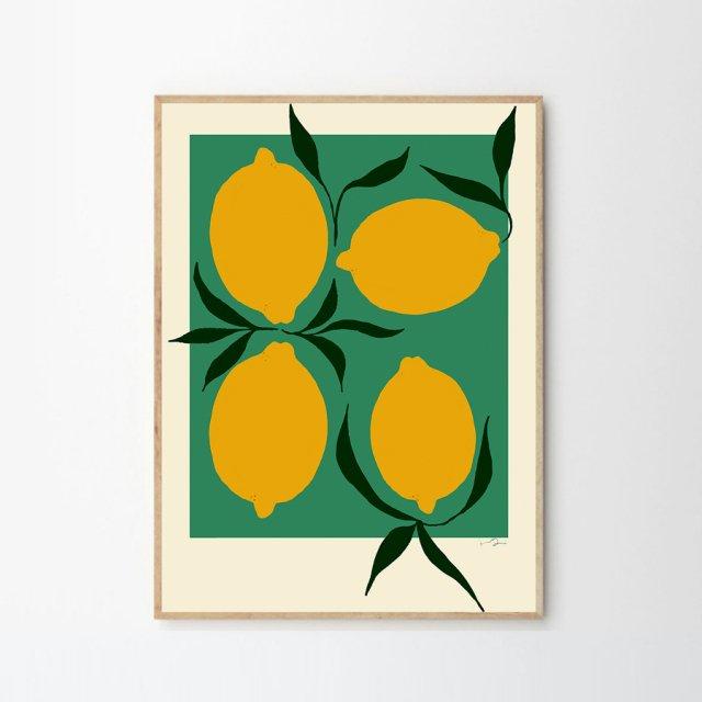 GREEN LEMON by Anna Morner (50×70cm)