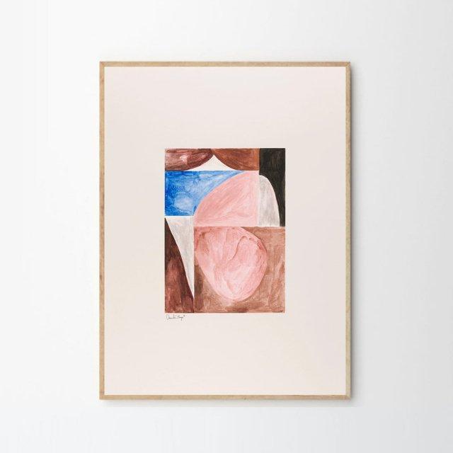 SHAPES 01 by Little Detroit (30×40cm)