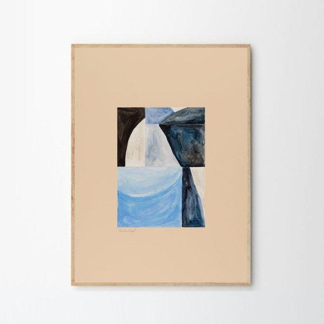 SHAPES 02 by Little Detroit (30×40cm)
