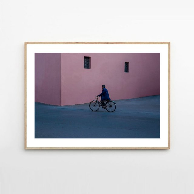 <img class='new_mark_img1' src='https://img.shop-pro.jp/img/new/icons43.gif' style='border:none;display:inline;margin:0px;padding:0px;width:auto;' />BICYCLE MAN by Christina Kayser O. (30×40cm)