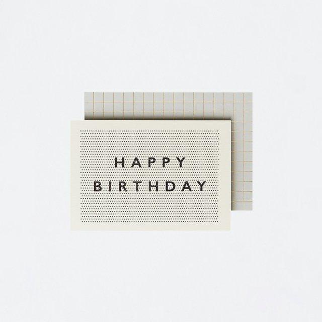 Katie Leamon メッセージカード PINPOINT BIRTHDAY