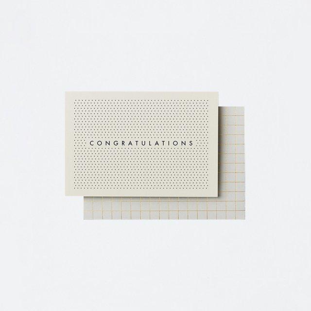 Katie Leamon メッセージカード GG PINPOINT CONGRATS