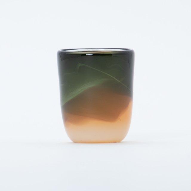 en.glassdesign 2色グラス #06