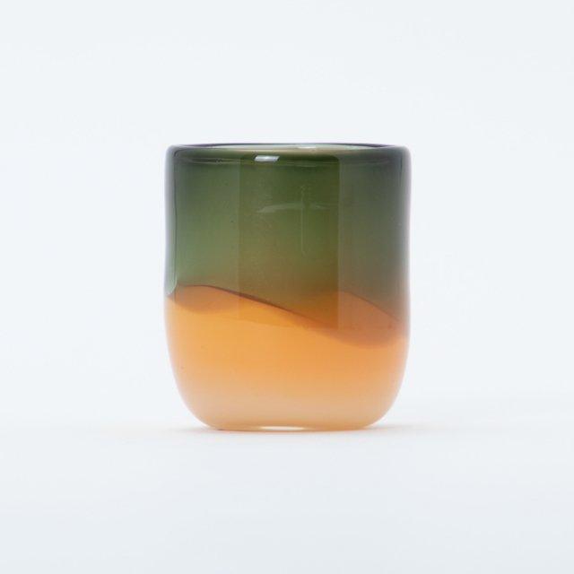 en.glassdesign 2色グラス #07