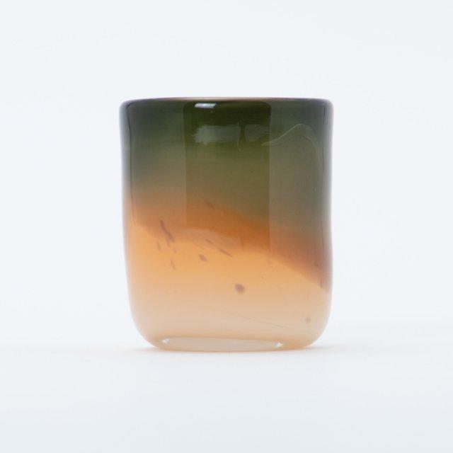 en.glassdesign 2色グラス #08