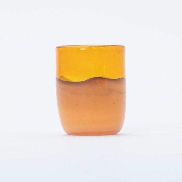 en.glassdesign 2色グラス #10