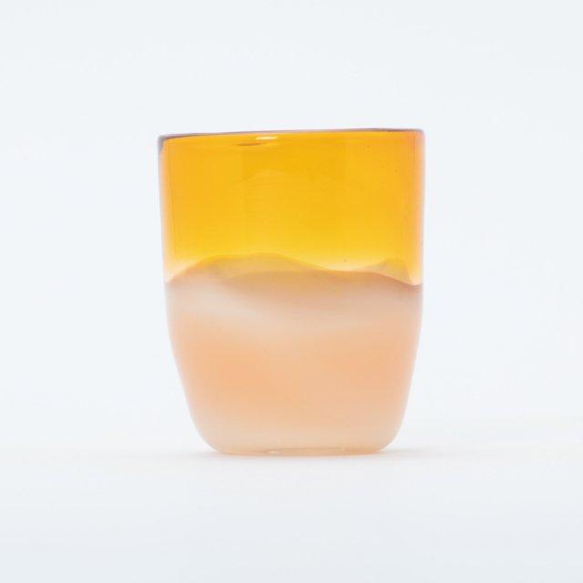 en.glassdesign 2色グラス #11