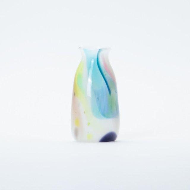 en.glassdesign マーブルフラワーベース S