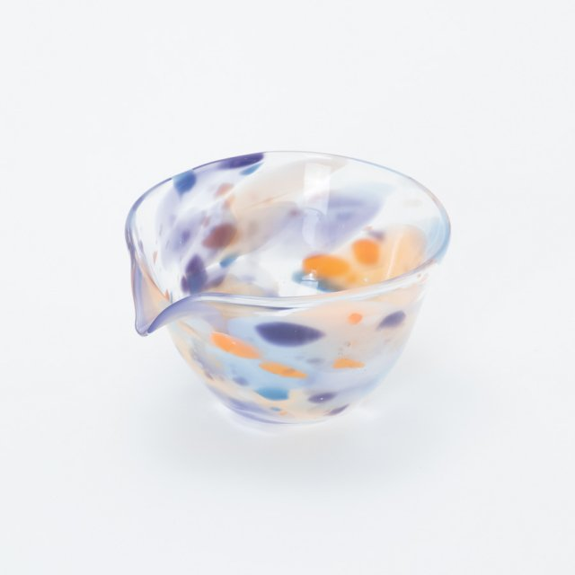 en.glassdesign マーブル片口鉢 #01