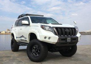150プラド KADDIS フロントバンパーTYPE-XT