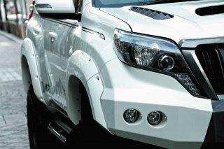 150プラド KADDIS オーバーフェンダーヨンゴーTYPE-XT