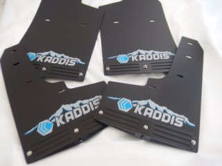 KADDIS RAV4専用マッドフラップPREMIUMブルー