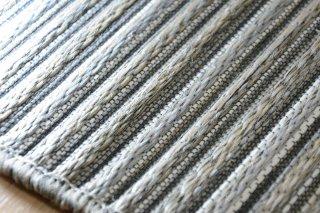 ゴザ風高級平織ラグ「ブライトン」 ライトブラウン 160×230cm