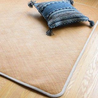 籐あじろ シーツ セミダブルサイズ 140×190cm 送料無料