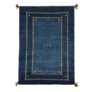 ペルシャンギャッベ ザロニム ブルー系 約144×102cm