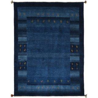 ペルシャンギャッベ ブルー系  パルディ 約173×230cm ラグサイズ
