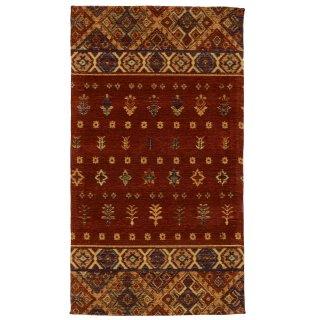 ジャガード織 キリム柄 民族柄 玄関マット 70×120cm